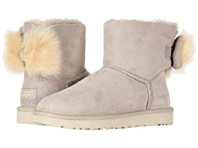 UGG Fluff Bow Mini (Willow) Women