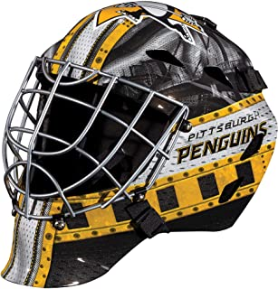 Pittsburgh Penguins Unsigned Franklin Sports Replica Full-Size Goalie Mask - Unsigned Mask