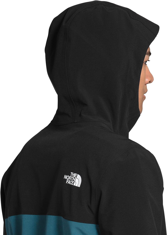 The North Face Men's Apex Flex DryVent Jacket, Mallard Blue/TNF Black, XL