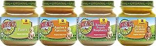 Earth's Best Organic 2 阶段婴儿食物,喜爱的水果组合包,4 盎司罐装,12 件装