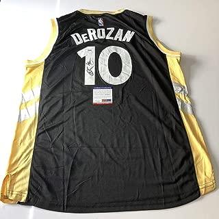 Autographed DeMar DeRozan Jersey - PSA/DNA Certified - Autographed NBA Jerseys
