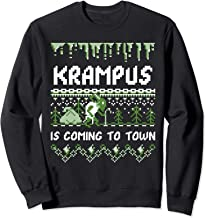 Krampus is Coming to Town - Funny Christmas Sweatshirt