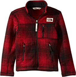 TNF Red Ombre Plaid Small Print