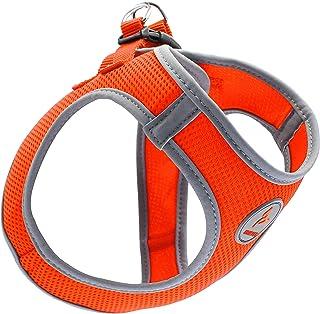 Kruz PET KZA306-08S Reflective Mesh Dog Harness, No Pull, Easy Walk, Quick Fit, Comfortable, Adjustable Pet Vest Harnesses...