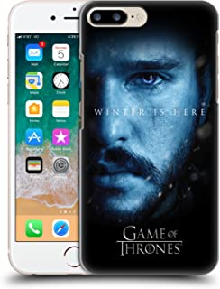 Official HBO Game of Thrones Jon Snow Winter is Here Hard Back Case Compatible for iPhone 7 Plus/iPhone 8 Plus