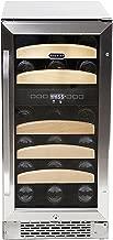 Whynter BWR-281DZ Dual Zone Built-In Wine Refrigerator, 28-Bottle