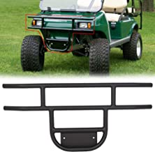 ECOTRIC Brush Guard Front Tubular Bumper for 1981-Up Club Car DS Models, Gas & Electric