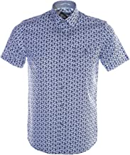 Ted Baker Men's Petalz Short Sleeve Printed Floral Shirt