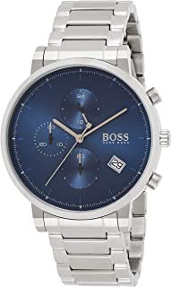 Hugo Boss Men's Blue Dial Stainless Steel Watch - 1513779