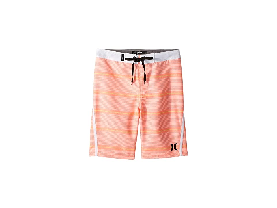 Hurley Kids Shoreline Boardshorts (Big Kids) (Bright Mango) Boy