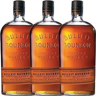 Bulleit Bourbon Frontier Whisky, 3er, Kentucky Straight Bourbon Whiskey, Alkoholgetränk, Alkohol, Flasche, 45%, 700 ml, 749201