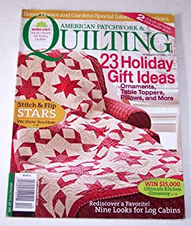 Better Homes and Gardens American Patchwork & Quilting Magazine December 2011
