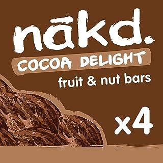 Nakd Multipack Cocoa Delight, 4x35 g