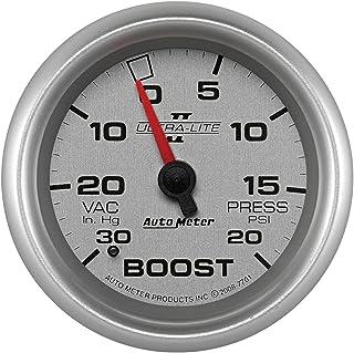 Auto Meter 7701 Ultra Lite Pro II 76,2 cm Hg/20 PSI Mechanische Vakuum/Ladedruckanzeige