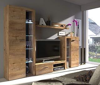 Amazon De Wall Units Wall Units Living Room Furniture Home Kitchen