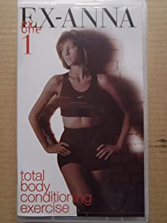 EX-ANNA one 1 total body conditioning exercise [VHS]