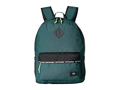 Vans Old Skool Plus II Backpack (Vans Trekking Green) Backpack Bags