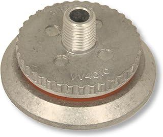 Válvula de vácuo para compósitos de saco a vácuo