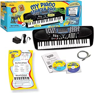 eMedia My Piano Starter Pack for Kids with Poster - 49-key P