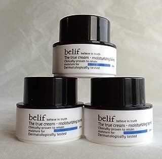 Belif The True Cream Moisturizing Bomb 30ml (10ml X 3, Trial Size)