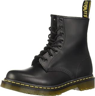 Dr. Marten's Women's 1460 8-Eye Patent Leather Boots, Black, 8 D(M) US
