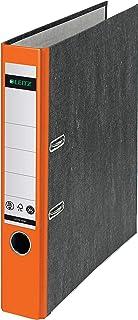 Leitz Cardboard binder 180° Naranja - Carpeta (Naranja, A4, 350 hojas, 5,2 cm, 80 gsm, 55 mm)