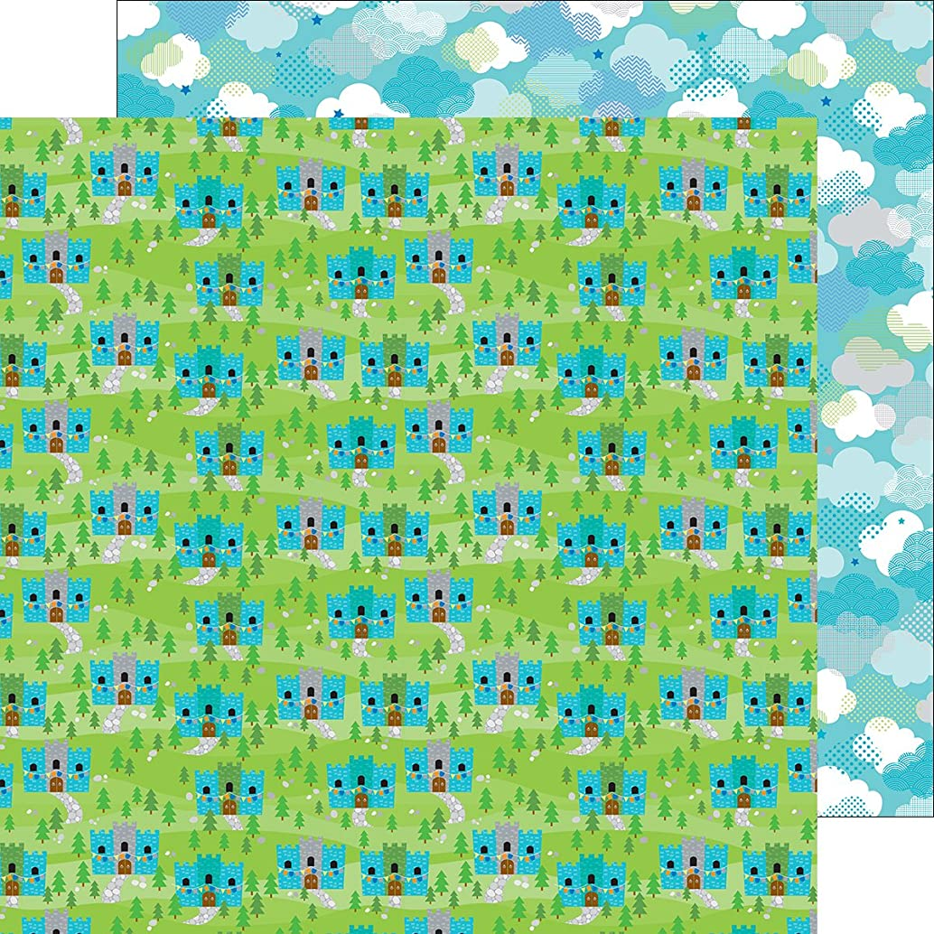 DOODLEBUG 5648 Dragon Tails Double-Sided Cardstock 12