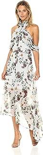 Keepsake The Label Women's Twilight Dreams Floral Print Cold Shoulder Midi Dress