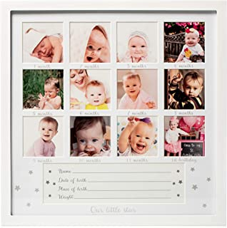1Dino My First Year Baby Keepsake Picture Frame - 13.2