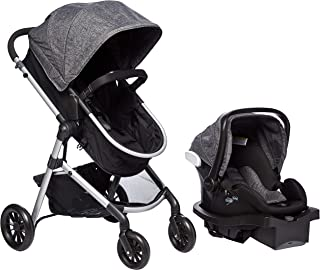 Evenflo Travel System Car Seat & Stroller, 0 to 36 Months, Black, Piece of 1