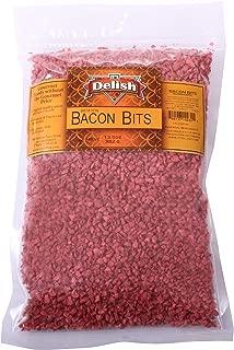 Imitation Bacon Bits by Its Delish, 1 lb (16 oz Bag)