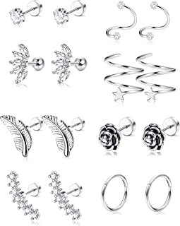 Best tragus piercing male Reviews