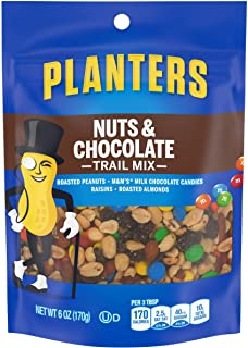 Planters Nuts and Chocolate Trail Mix, 6 oz Bag