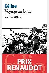 Voyage au bout de la nuit (French Edition) Kindle Edition