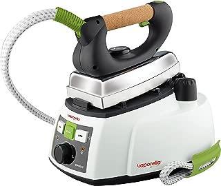 Polti Vaporella 535 Eco Pro Centro de planchado a vapor, 4 bar presión, 1750 W, 0.9 Litros, Función ECO, Aluminio, Verde y Blanco, 25 x 35 x 27 cm