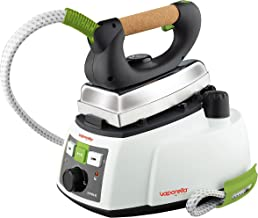 Polti Vaporella 535 Eco Pro Centro de planchado a vapor, 4 bar presión, 1750 W, 0.9 Litros, Función ECO, Aluminio, Verde y Blanco