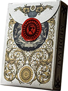 Mediaeval Playing Cards with Unique Seal, Stand Out with Hand Illustrated Deck of Cards, Poker Cards