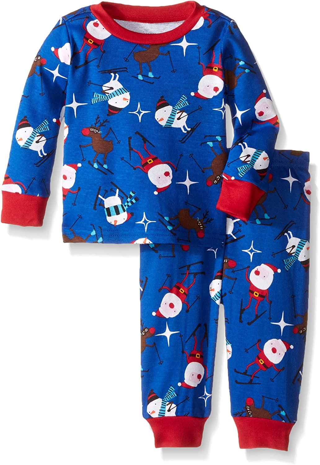 The Childrens Place Boys Super Baby Long Sleeve Pants Set