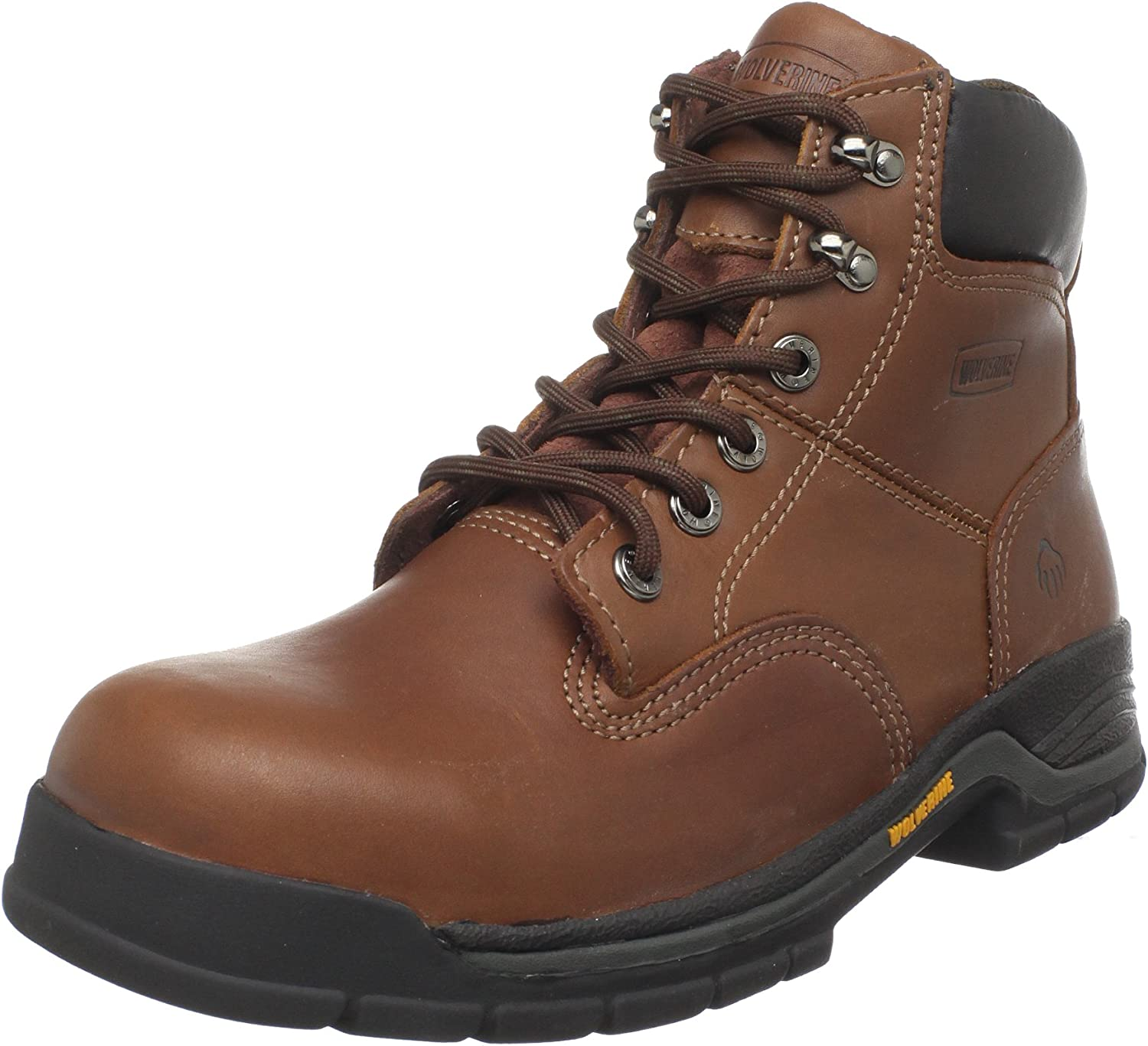 Wolverine Men's Harrison Lace-Up Steel-Toe EH 6  Work Boot