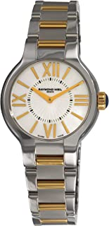 Women's 5932-STP-00907 Noemia Two Tone Roman Numerals Dial Watch