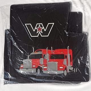 western star rubber floor mats
