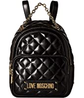 LOVE Moschino - Shiny Quilted Backpack