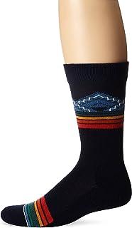 Pendleton Men's Merino Jacquard Park Crew Socks