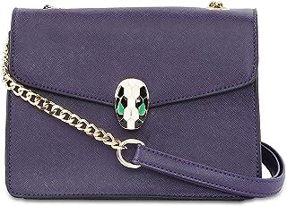 Portia Horizontal Lock Flap Over Sling Bag