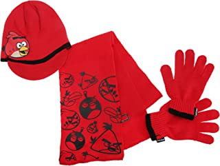 angry birds hat and glove set