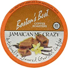 Boston's Best Coffee Roasters, Jamaican Me Crazy, Single Serve Cup 80 Count