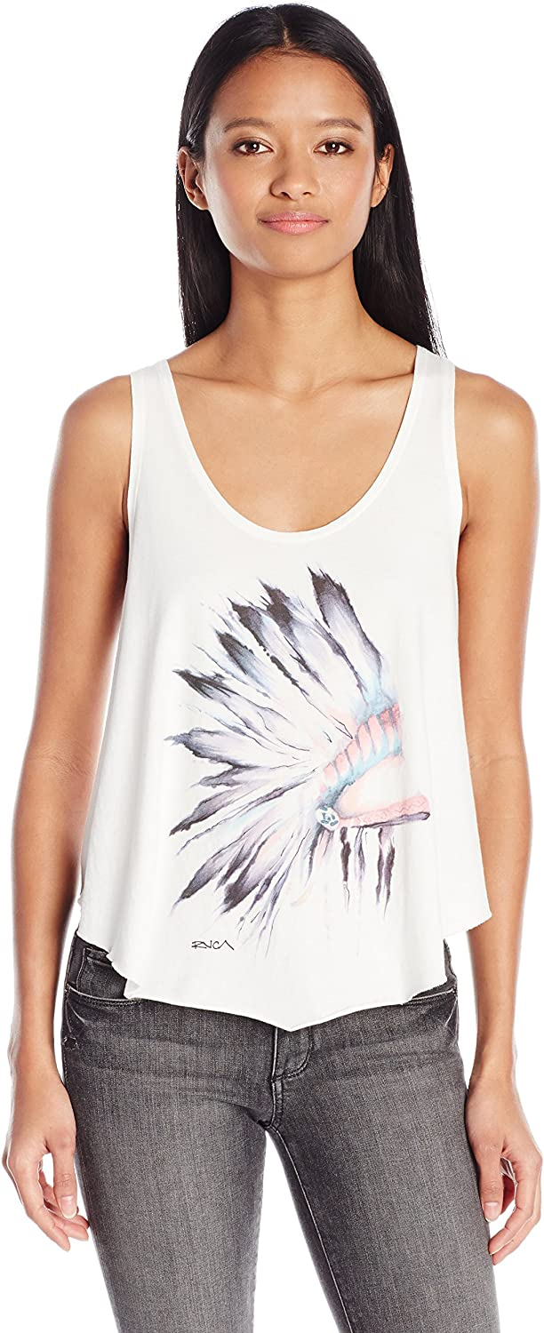 RVCA Womens Jones Indian Tank Tank Top Cami Shirt