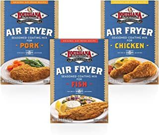 Louisiana Fish Fry, Air Fry Variety Pack, 5 oz (Pack of 6)