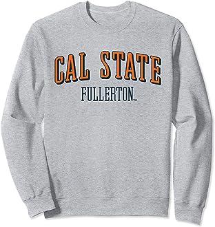 Cal State Fullerton Titans 100/% Pre-Shrunk College Short Sleeve