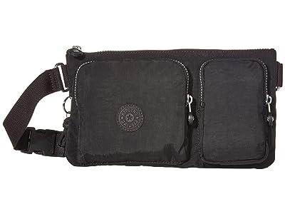 Kipling Presto Up Waistpack (Black Noir) Handbags